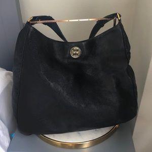 Tory Burch 🖤 Dena Black Leather Hobo Bag 🖤